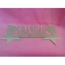 MDF Grandad boxing gloves plaque